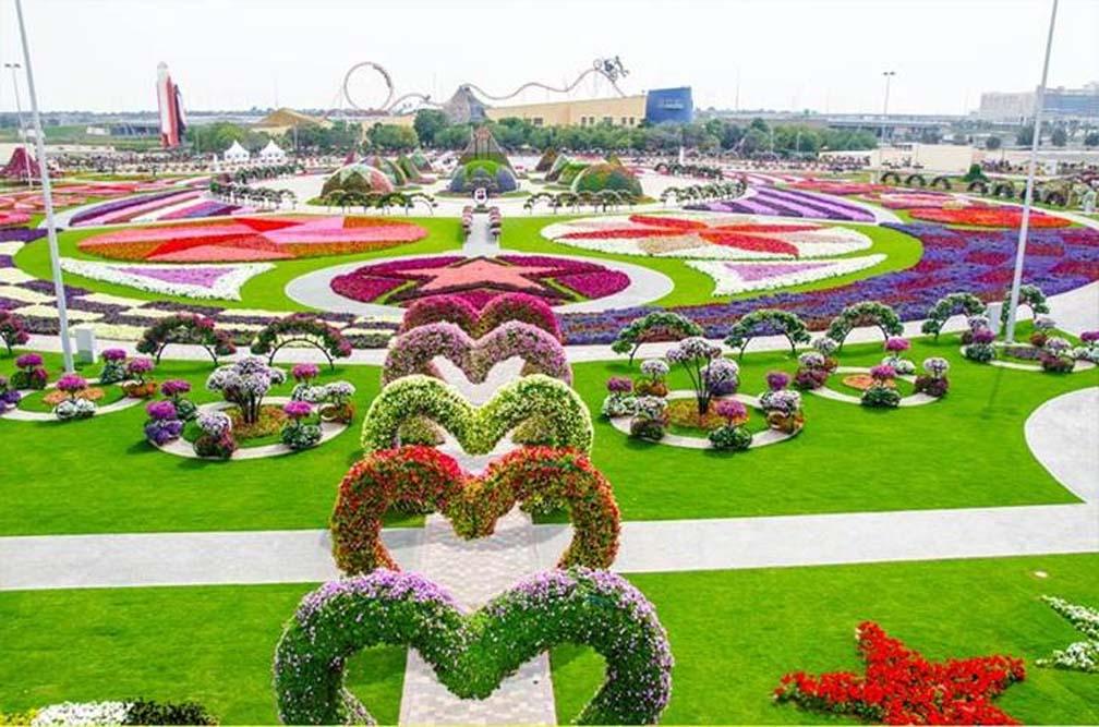 Парк цветов в Дубай