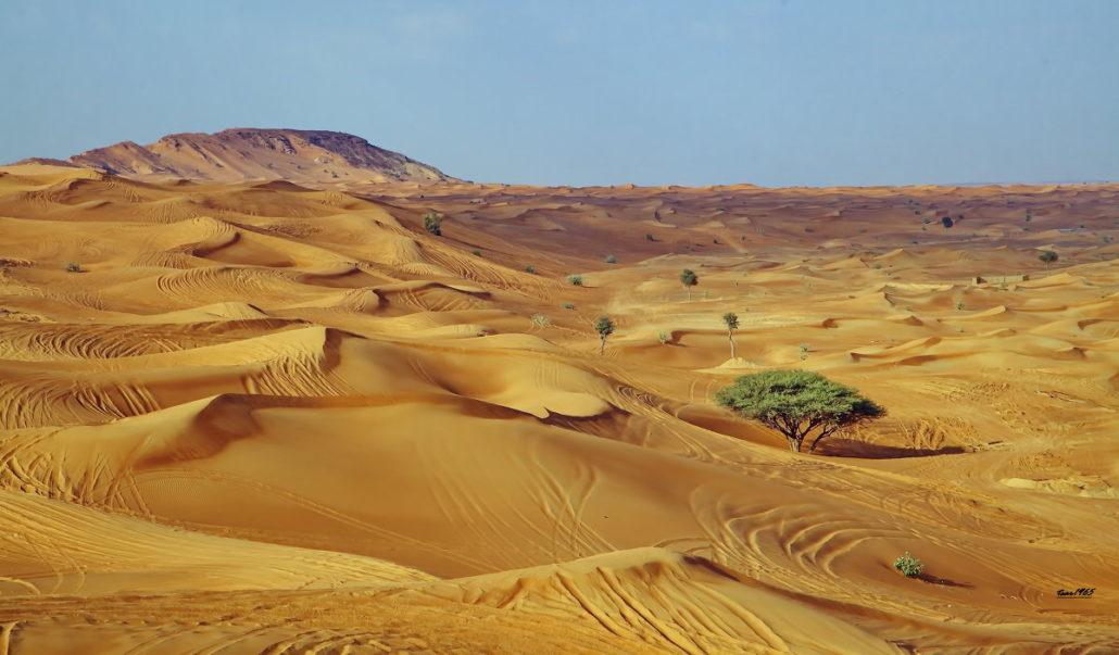 пустыня в Дубай