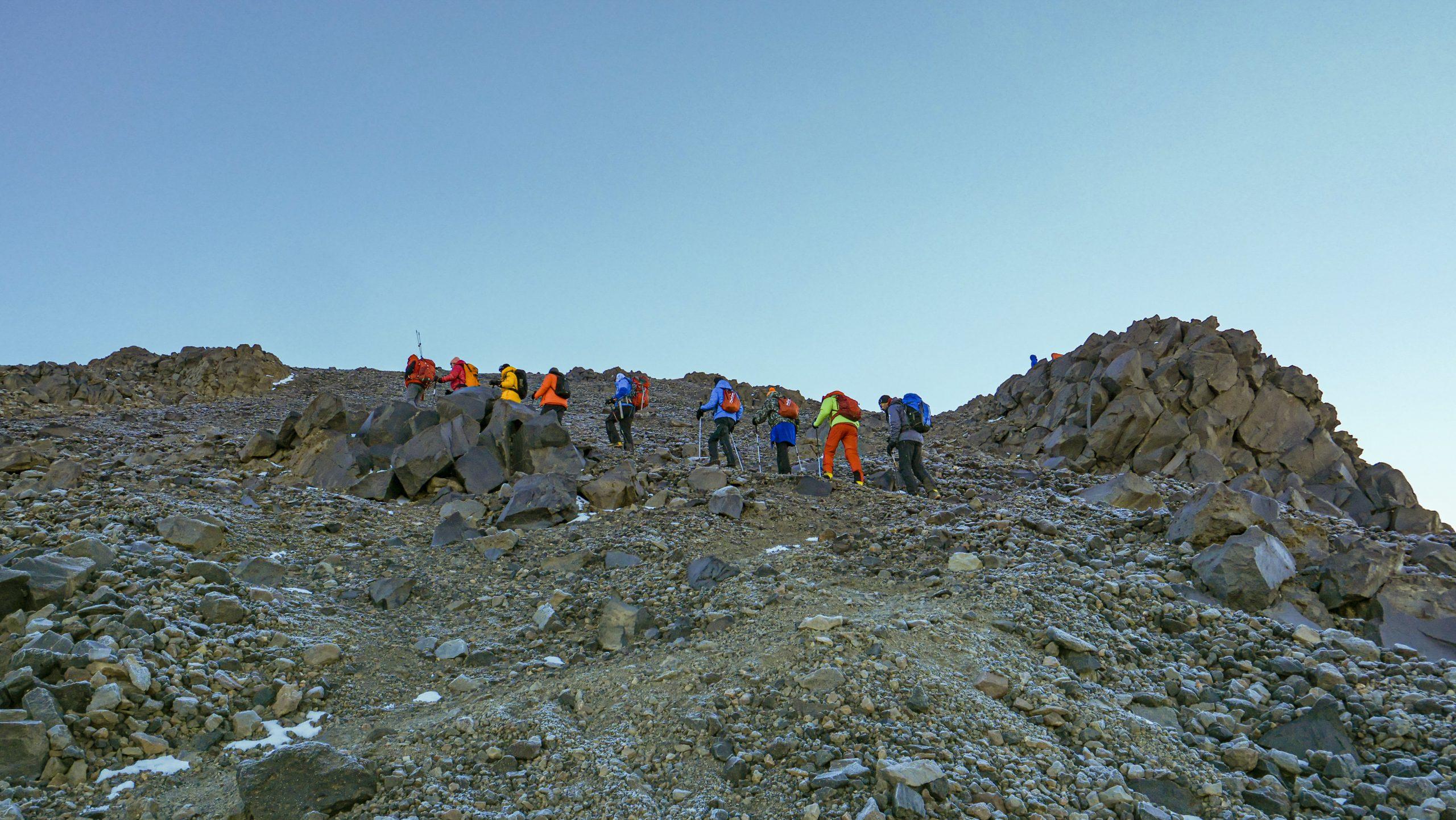 Восхождение на вершину Арарат